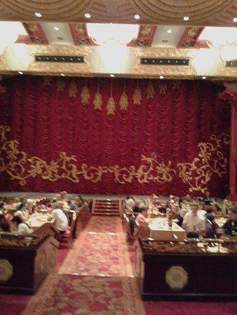 Yun'an Xian, Kina: la sala del teatro