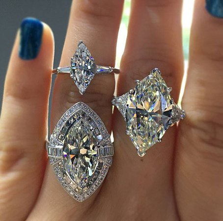 Benaulim, Ấn Độ: Diamond rings of varieties