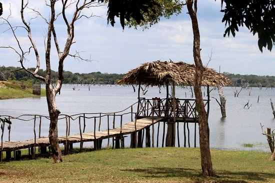 Northern Province, Sri Lanka: lake view