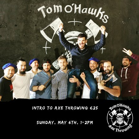 ‪Tom O' Hawks Indoor Axe Throwing Events‬