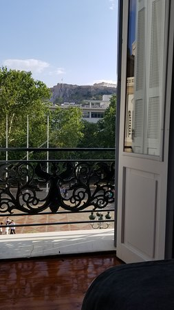 The Zillers Boutique Hotel: View from the bed