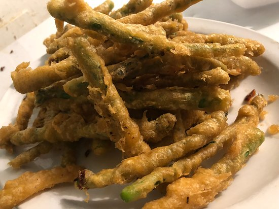 Wabeno, Висконсин: Beer battered asparagus