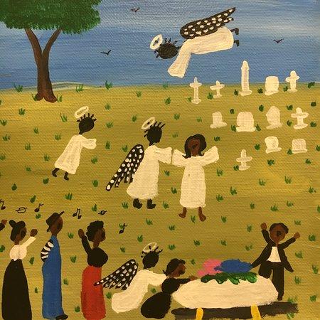 "Camden, Αλαμπάμα: ""They Carried Mama Home"" Folk Art by Jessie LaVon, Hale County, AL"