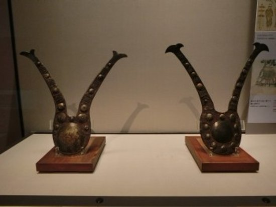 Kuriyama-cho, Japão: 【参考画像】東博本館1階16室に展示されている鍬形