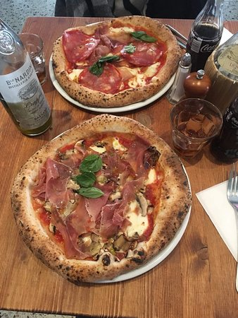 Pizzas composées