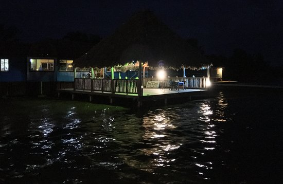 South Water Caye, Belize: Le restaurant