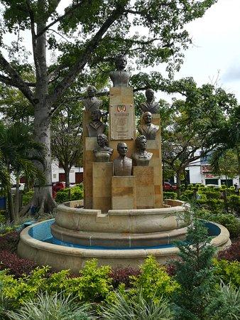 Oiba, Colombia: Parque