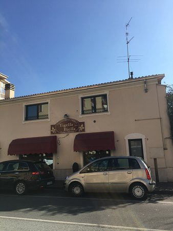 Tigella Biella: facciata