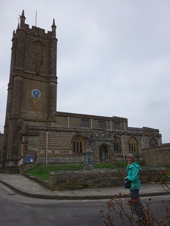 St Mary's Church: with a small graveyard