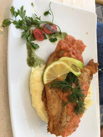 Fisk med potatismos