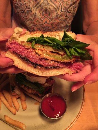 Stephens City, VA: rare burger!