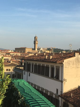 Palazzo Gaddi : View from the top roof bar