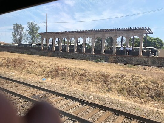 Amatitán, México: Amatitan train stop