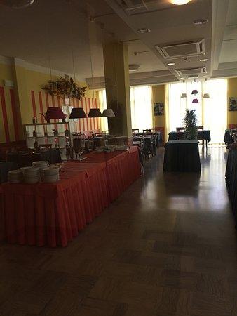 Hotel Bahama: sala colazione
