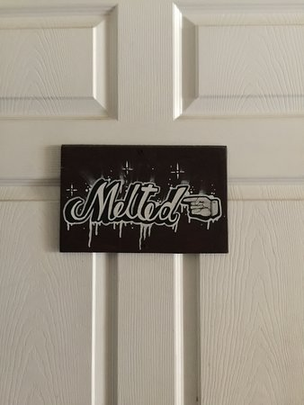 Interior Door Sign Picture Of Melted Napa Tripadvisor