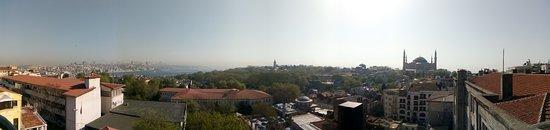 أجورا لايف هوتل: view from the hotel terrace