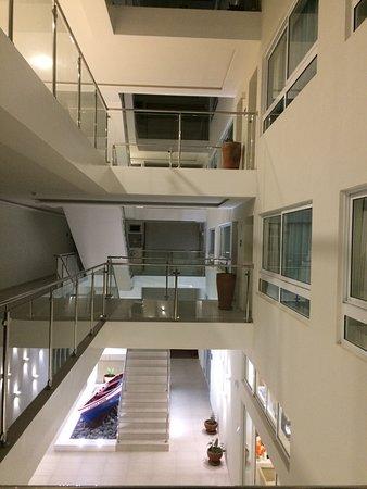 Ponta Do Sol, Zielony Przylądek: le hall et l'escalier
