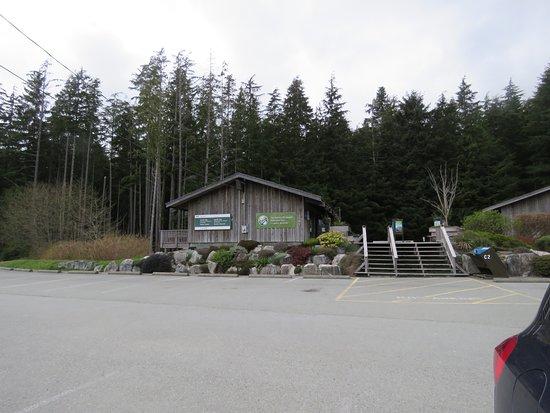 Pacific Rim Visitor Centre : Good parking