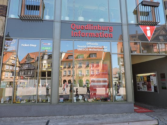 Quedlinburg-Information  der Quedlinburg-Tourismus-Marketing GmbH