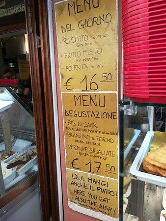 Ristorante taverna tipica veneziana in venezia con cucina italiana - Cucina tipica veneziana ...