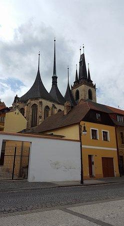 Louny, Czech Republic: from the back