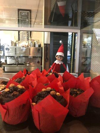 Caherconlish, Ireland: elf keeps eating our muffins