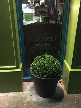 Stone Oven Bistro: stone oven