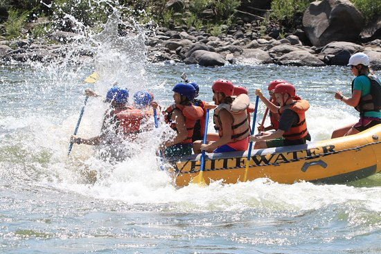 Gardiner, MT: Rafting on the Yellowstone River