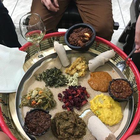 Miami Gardens, فلوريدا: Awash Ethiopian Restaurant