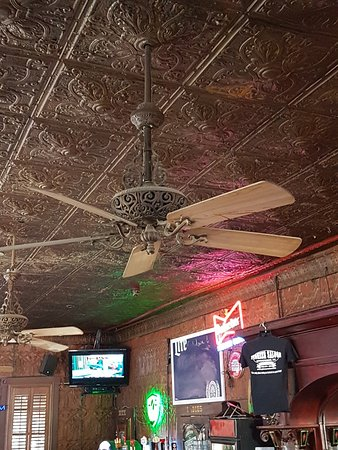 old ceiling and fans - Picture of Pioneer Saloon -- Ghost Town Cafe