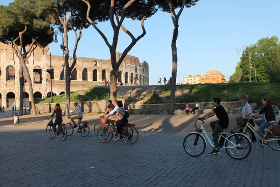 Around a Roman Bike