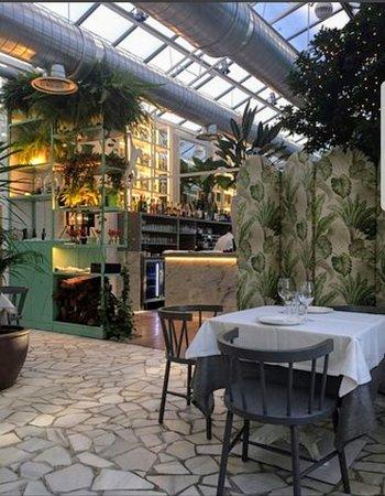 Restaurante restaurante el invernadero de los pe otes en alcobendas con cocina otras cocinas - Los penotes alcobendas ...