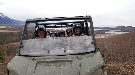 Chugiak, อลาสกา: Adventure with Riding Alaska ATV Tours!