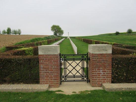 Beaumont-Hamel, France: Beaumont Cemetery