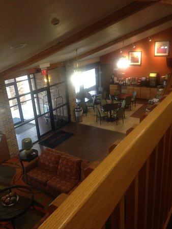 Platte City, MO: Breakfast area