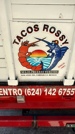 Taqueria Rossy: back of truck