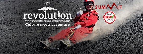 Leon, Nicaragua: Volcano Board down Cerro Negro Volcano with Summit Adventures Nicaragua!