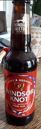 Windsor & Eton Brewery: Windsor Knot beer for the Royal Wedding