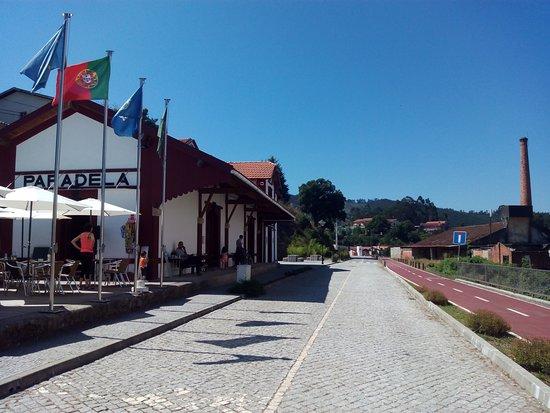 Sever do Vouga, Portugal: Ecopista em Paradela