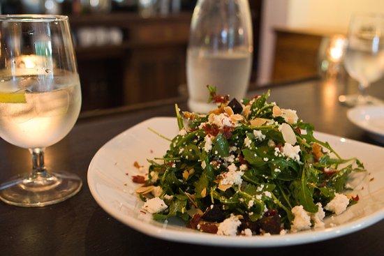 Ojai, CA: Arugula and Dried Fig Salad