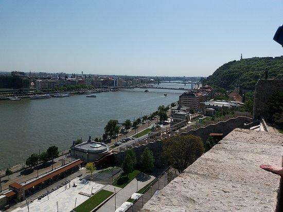 Hotel Erzsebet City Center: Il ponte Elisabetta a 500m. dall' Hotel
