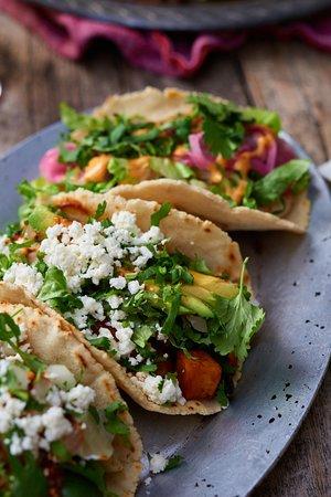 Ojai, CA: Tacos: Shrimp, beef or veggie