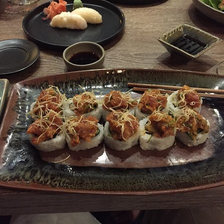 Wonderful mix of Japanese and Peruvian food in a beautiful setting