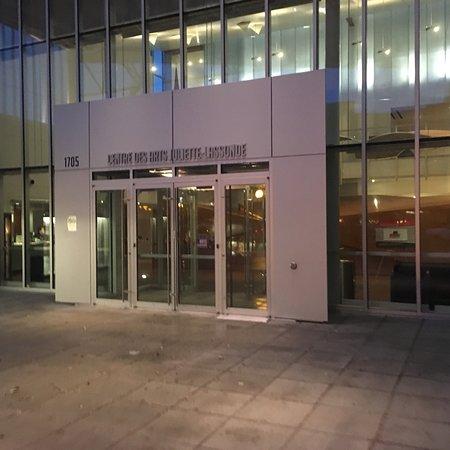 Saint Hyacinthe, Kanada: Entrée principale du centre des arts