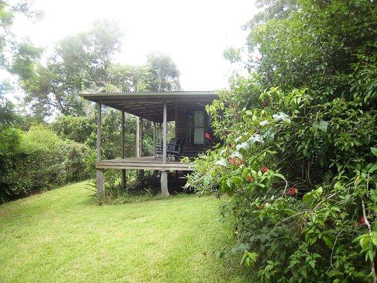Moreton Bay Region, Australia: Cottage verandah & courtyard