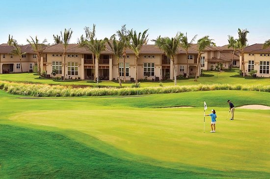 Aston Waikoloa Colony Villas: Golf course