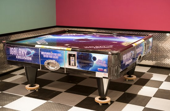 Astounding Amusement 4 Player Air Hockey Table Picture Of Speedway Interior Design Ideas Tzicisoteloinfo