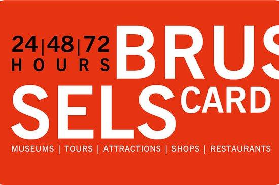 Brüssel Card mit optionalem STIB-Ticket für öffentliche Verkehrsmittel