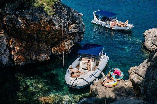 Excursion en bateau à grande vitesse...