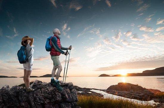 Sole di mezzanotte alle isole Lofoten
